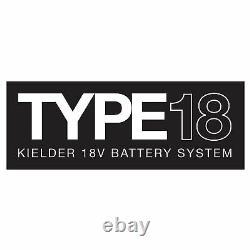 Kielder 1/2in Drive 18 Volt Brushless Impact Wrench 1 x 4.0Ah 700Nm KWT-012-05