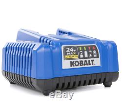 Kobalt 24-V 1/2-In Drive Cordless Impact Wrench Li-Ion Battery Power Tool Bag