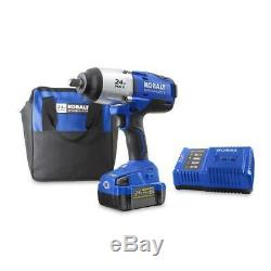 Kobalt 24-Volt Max 1/2-in Drive Variable Brushless Cordless Impact Wrench