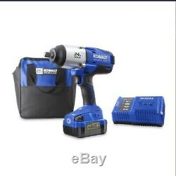 Kobalt 24-Volt Max-Volt 1/2-in Drive Cordless Impact Wrench #0672825