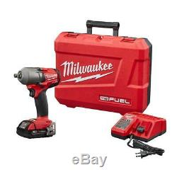 M18 FUEL 18-Volt Lithium-Ion Mid Torque Brushless Cordless 1/2 in. Impact Wrench