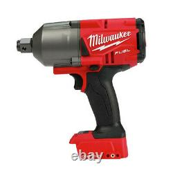 M18 FUEL ONE-KEY 18-Volt Lithium-Ion Brushless Cordless 3/4 in. Impact Wrench with