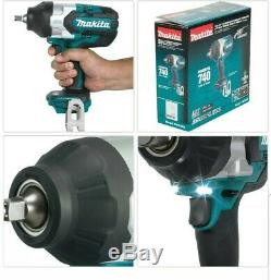 MAKITA 1/2 in Drive Impact Wrench 18-V LXT Brushless Cordless 3-Speed TOOL-ONLY