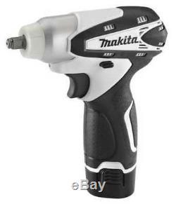 MAKITA WT01W 12V 3/8 Cordless Impact Wrench Kit, (2) 1.3Ah Batteries