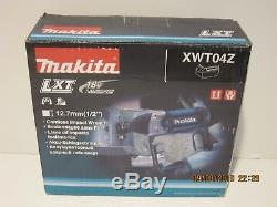 MAKITA XWT04Z 18V LXT Lith-Ion 1/2 Cordless High Torque Impact Wrench NISB F/SP