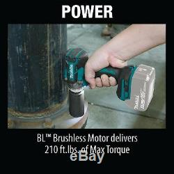 MAKITA XWT11Z NEW 18V LXT Li-Ion Cordless 1/2 Sq. Drive Impact Wrench TOOL ONLY