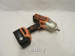 MATCO TOOLS MCL2012HPIW 20v 1/2 Dr ORANGE CORDLESS IMPACT WRENCH