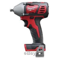 MILWAUKEE 2658-20 M18 3/8 Cordless Impact Wrench with Friction Ring, Bare Tool