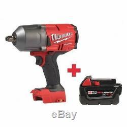 MILWAUKEE 2767-20, 48-11-1840 M18 18.0 1/2 Cordless Impact Wrench