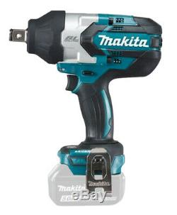 Makita Brushless Impact Wrench Cordless 3/4Dr 18v Li-Ion DTW1001Z TOOL ONLY