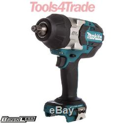 Makita DTW1002Z 18V LXT Cordless Brushless Impact Wrench 1/2 Drive Body Only