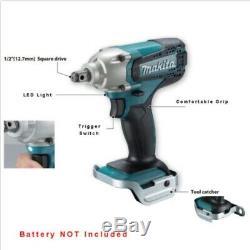 Makita Electricians Craftmen 18V LXT Li-Ion Cordless Impact Wrench Body DTW190Z