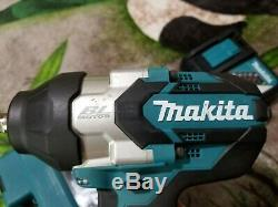 Makita Impact Wrench 1/2 in. 18-Volt Lithium-Ion 3-Speed Cordless (Tool Only)