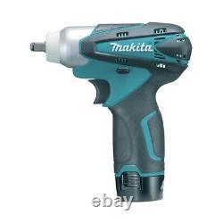 Makita TW100DWE 10.8v Cordless Impact Wrench 3/8 square drive 2 1.3ah batteries