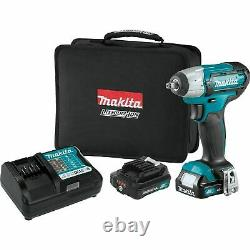 Makita WT02R1 12 Volt 3/8 Drive 2.0 Max CXT Cordless Impact Gun Wrench Kit