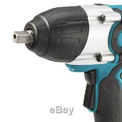 Makita XWT041X 18-Volt 3.0 Ah LXT Lithium-Ion Cordless Drive Impact Wrench Kit