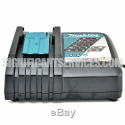 Makita XWT04Z 18V LXT Cordless 1/2 High Torque Impact Wrench 5.0 Ah Battery Kit