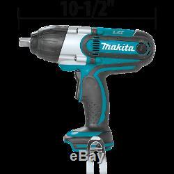 Makita XWT04Z 18V LXT LiIon Cordless 1/2 Sq. Drive Impact Wrench withWarranty