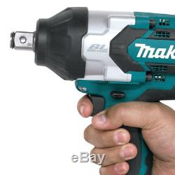 Makita XWT07Z 18-Volt 3/4-Inch LXT Lit-Ion Cordless Impact Wrench Bare Tool