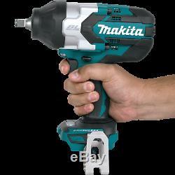 Makita XWT08Z 18V LiIon Brush-Cordless High Torque 1/2 Sq. Drive Impact Wrench
