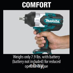 Makita XWT08Z LXT Li-Ion Brushless Cordless High Torque Square Impact Wrench 18V