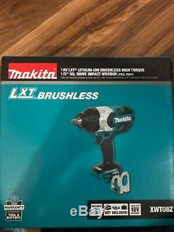 Makita XWT08Z Lithium-Ion Brushless Cordless Drive Impact Wrench (1/2) 18V