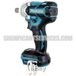 Makita XWT11Z 18V Brushless Cordless 3 Speed 1/2-Inch Impact Wrench, Tool Only
