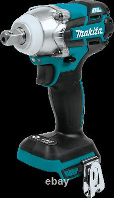 Makita XWT11Z 18V LXT Brushless Cordless 3Speed 1/2 Impact Wrench, Tool Only