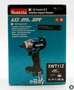 Makita XWT11Z Brushless Cordless 1/2 Impact Wrench 18 Volt LXT New Sealed