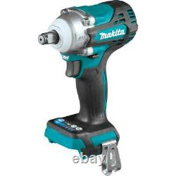 Makita XWT14Z 18V LXT 1/2 Sq. Cordless Drive Impact Wrench with Anvil Bare Tool