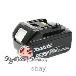 Makita XWT15Z 18V Brushless Cordless 4 Speed 1/2 Impact Wrench 5.0 Ah Battery