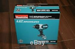 Makita Xwt08z Lxt Brushless Cordless High Torque 1/2 Sq. Drive Impact Wrench