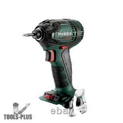 Metabo 602396890 18V Cordless 1/4Hex Triple Hammer Impact Driver (Tool Only) New
