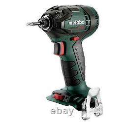 Metabo 602396890 18 Volt 1/4 Inch Cordless Hex Impact Driver, Bare Tool