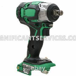 Metabo HPT WR18DBDL2 18V Lithium Ion Cordless Brushless 1/2 Impact Wrench Tool