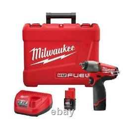Milwaukee 2454-22 M12 FUEL 12V 3/8-Inch Impact Wrench Kit