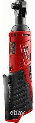 Milwaukee 2457-20 M12 Cordless 3/8 in. Ratchet Bare Tool IN STOCK