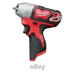 Milwaukee 2461-20 M12 Li-Ion 1/4 in. Impact Wrench (BT) New