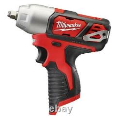 Milwaukee 2463-20 M12 12V 3/8-Inch Impact Wrench with Belt Clip Bare Tool