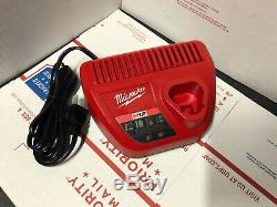 Milwaukee 2463-20 M12 3/8 12V Cordless Impact Wrench With Battery and Charger