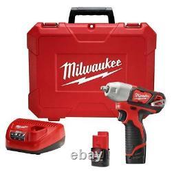 Milwaukee 2463-22 M12 12V 3/8-Inch Impact Wrench Kit