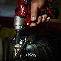 Milwaukee 2463-22 M12 12V Cordless 3/8 Impact Wrench Kit