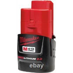 Milwaukee 2550-20 M12 12 Volt Rivet Gun Bare Tool Only With 2.0 Battery