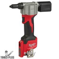 Milwaukee 2550-20 M12 Pop Rivet Tool (Tool Only) New