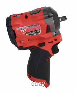 Milwaukee 2554-20 12V Li-Ion Brushless Cordless Stubby 3/8 in. Impact Wrench