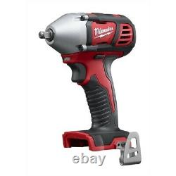 Milwaukee 2658-20 M18 3/8 Compact Cordless Impact Wrench with Friction Ring