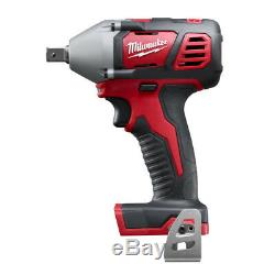 Milwaukee 2659-20 M18 18-Volt 1/2-Inch Impact Wrench with Belt Clip