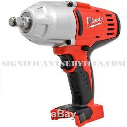 Milwaukee 2663-20 18 Volt 1/2 in Cordless High Torque Impact Wrench Friction Rin