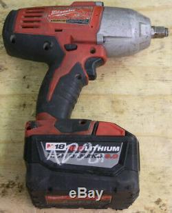 Milwaukee 2663-20 M18 1/2 Cordless High Torque Impact Wrench (CR)