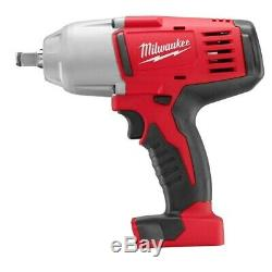 Milwaukee 2663-20 M18 1/2 High Torque Impact Wrench withFriction Ring (Bare Tool)